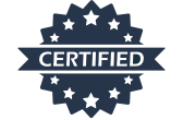 Third party tested and certified