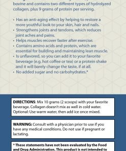 Collagen Plus - Suggested use